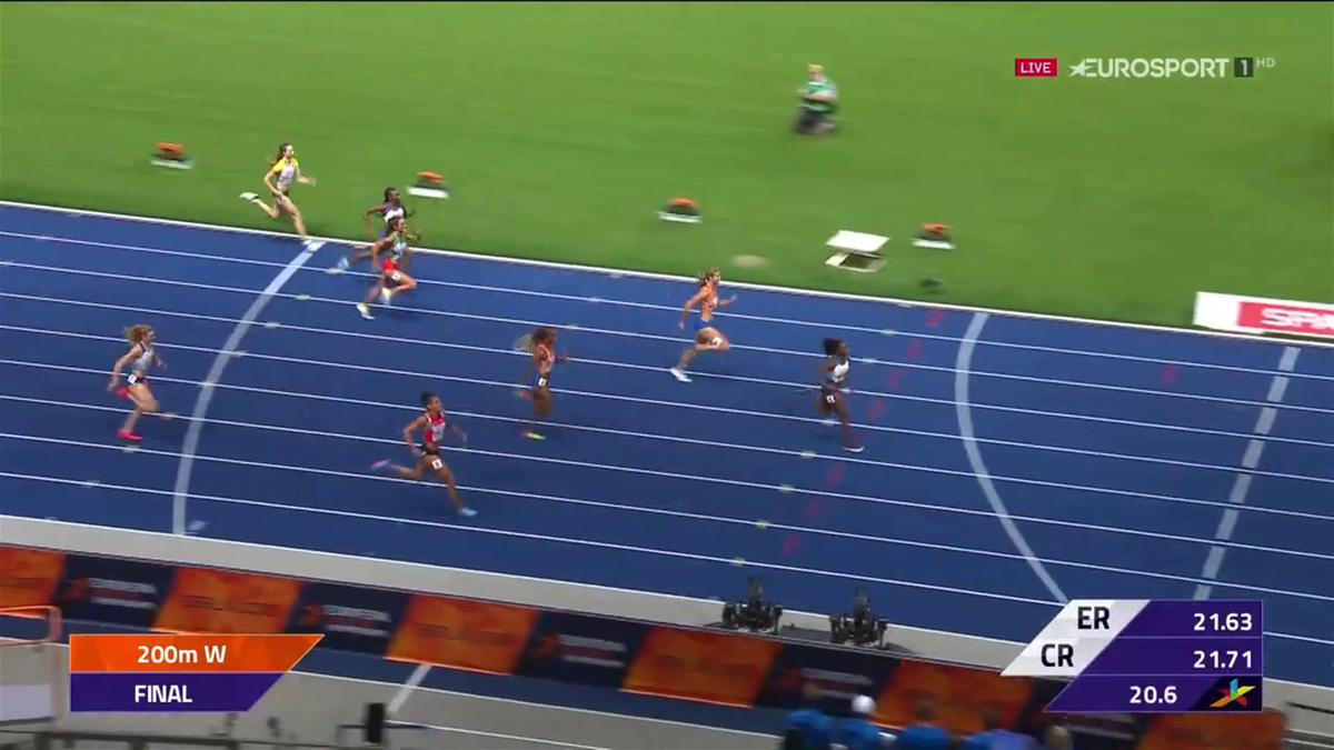 Vrouwen 200 meter