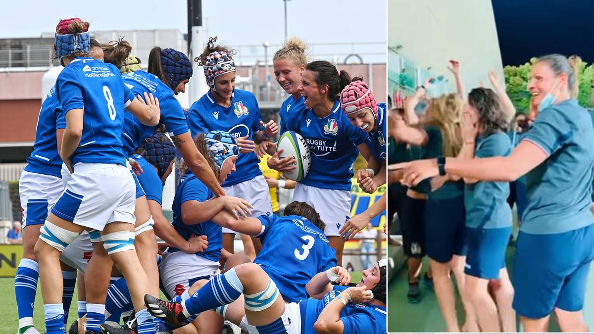 Italia qualificata alla Coppa del Mondo: la gioia delle ragazze dell'Italrugby