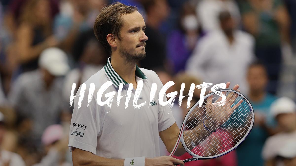 US Open | Medvedev zit er lekker in en stoomt door naar derde ronde