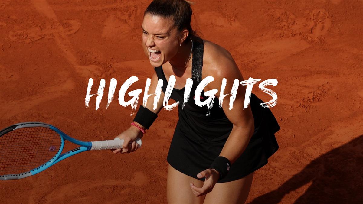 Roland Garros: Sakkari - Kenin meccsösszefoglaló