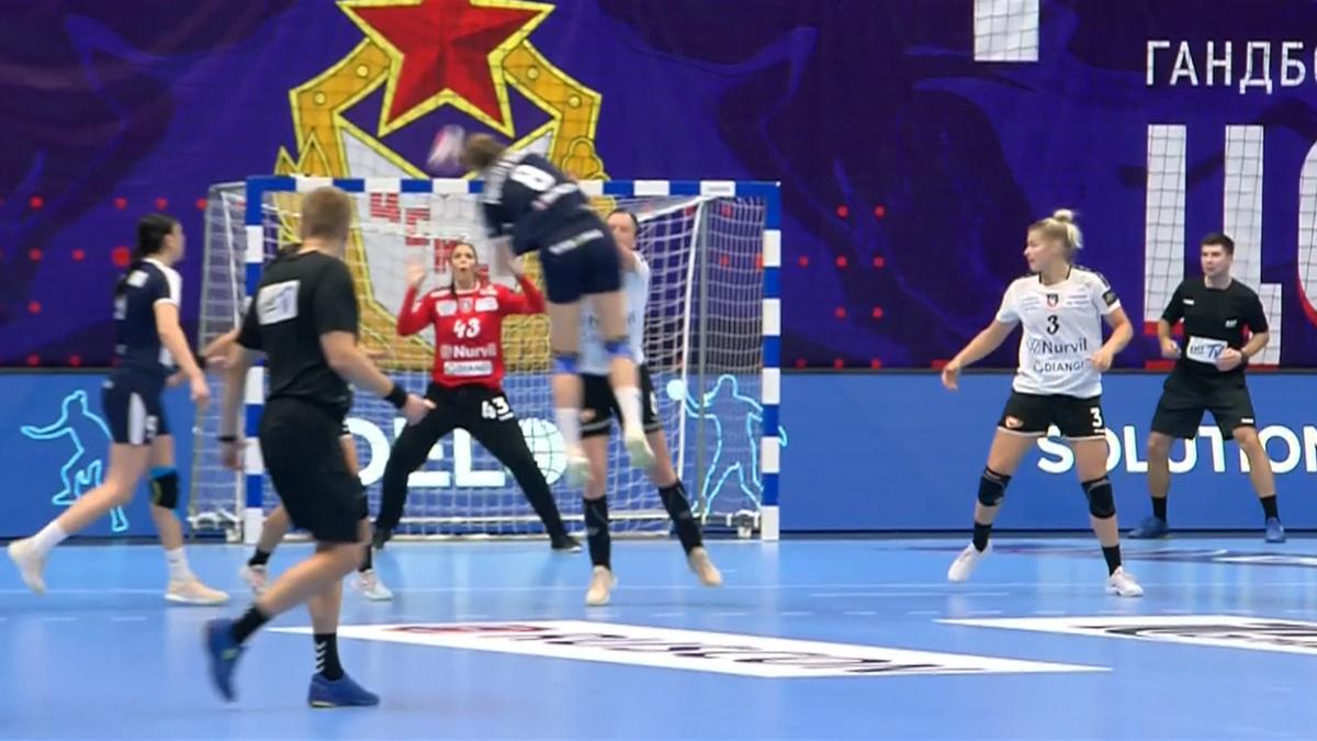 EHF Champions League Women : Highlights CSKA v SCM Ramnicu Valcea