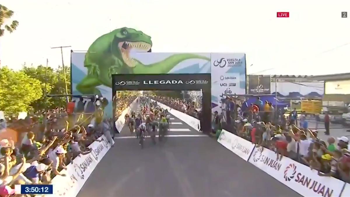 Fernando Gaviria wins Stage 1 of La Vuelta a San Juan