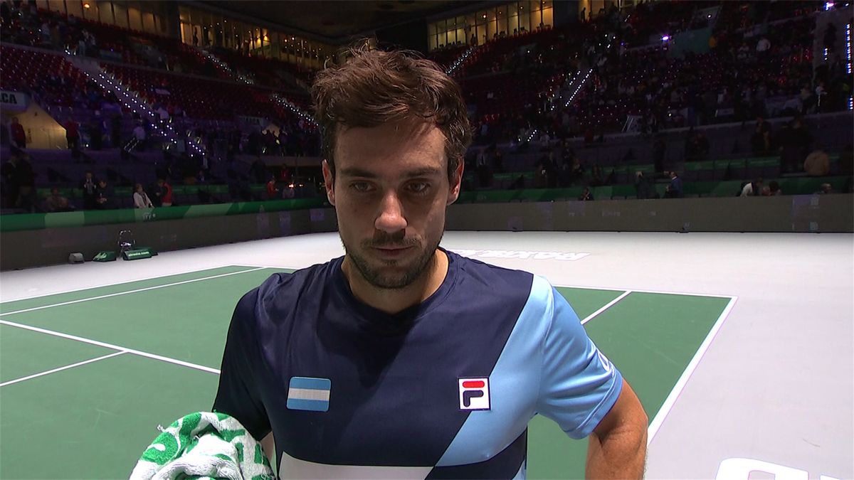 Davis Cup : post match Guido Pella Interview