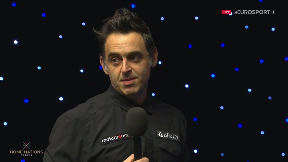 O'Sullivan reveals why he played on for snookers with just black left