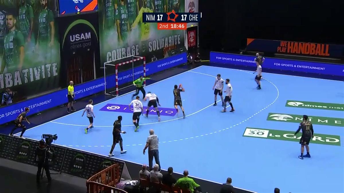 Le résumé du match nul de Nîmes contre le Medvedi Chekhov en vidéo