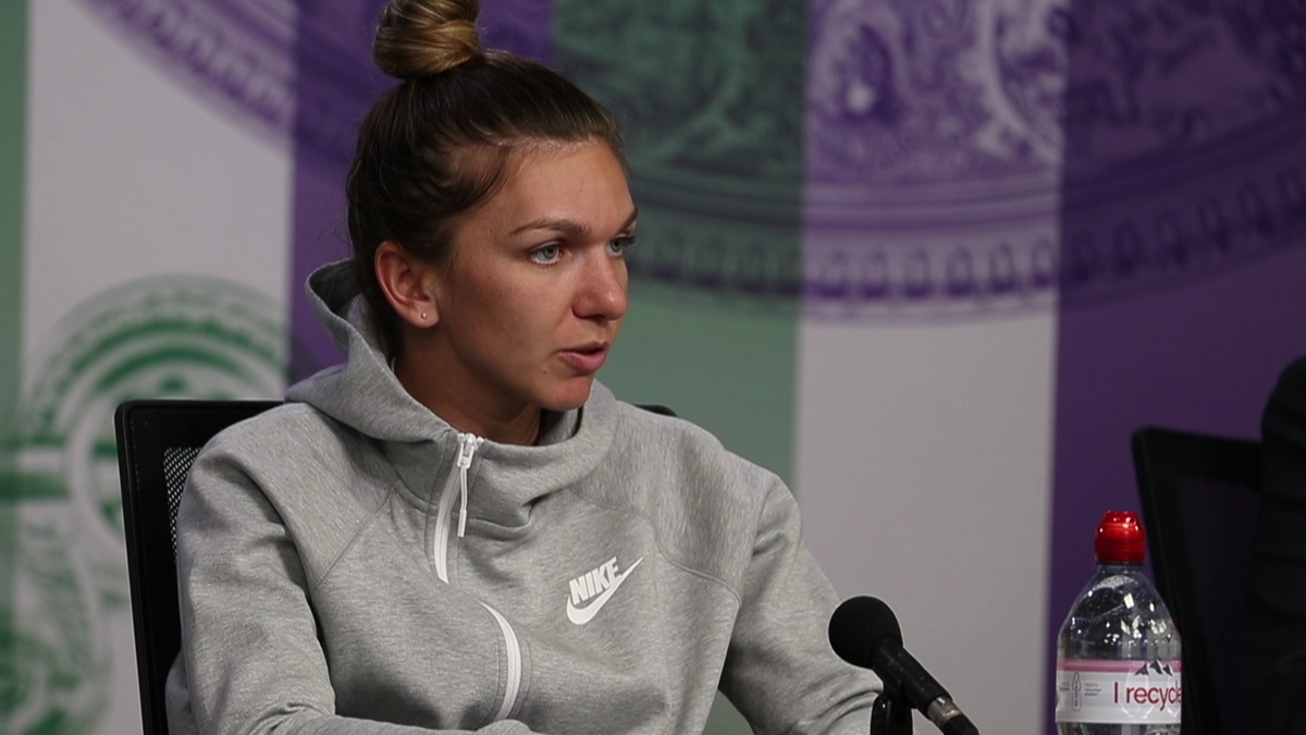 Simona Halep talks about her confidence
