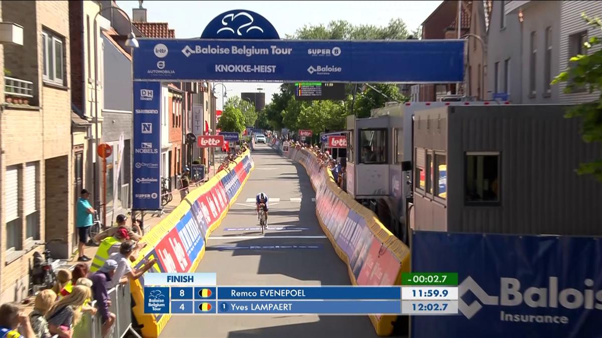 Ronde van België | Remco Evenepoel wint tijdrit