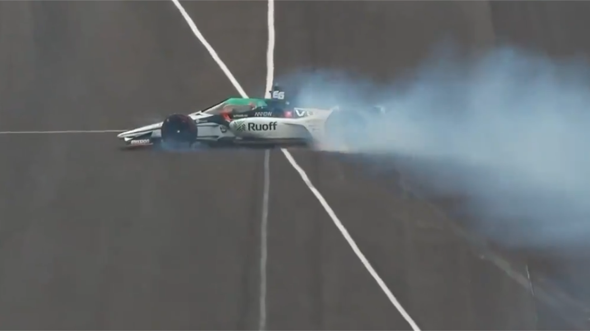 Fernando Alonso (Arrow McLaren) 500 millas Indianápolis (Imagen: NBC)