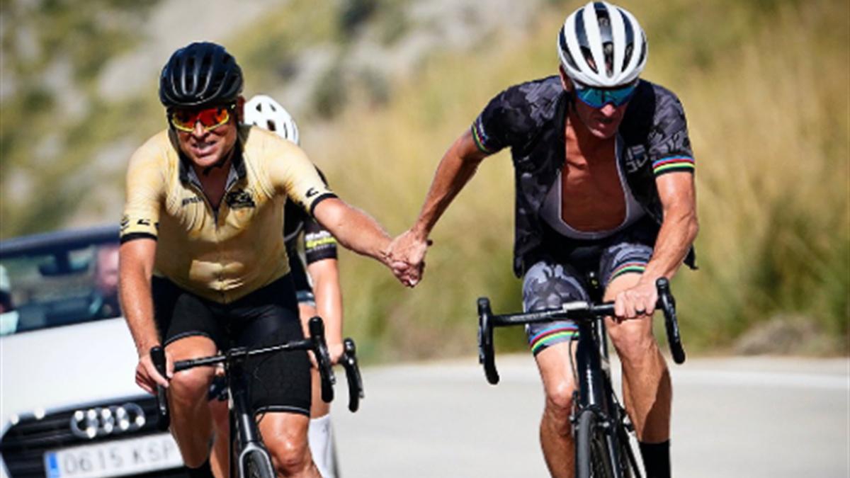 Jan Ullrich und Lance Armstrong
