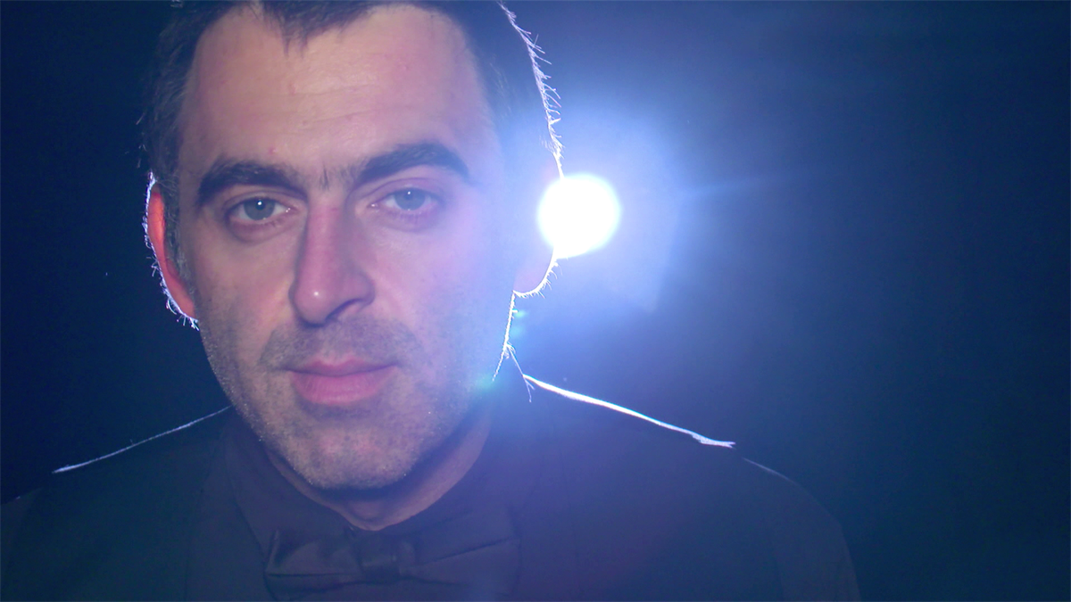 Northern Irland Open - Ronnie ITW 1