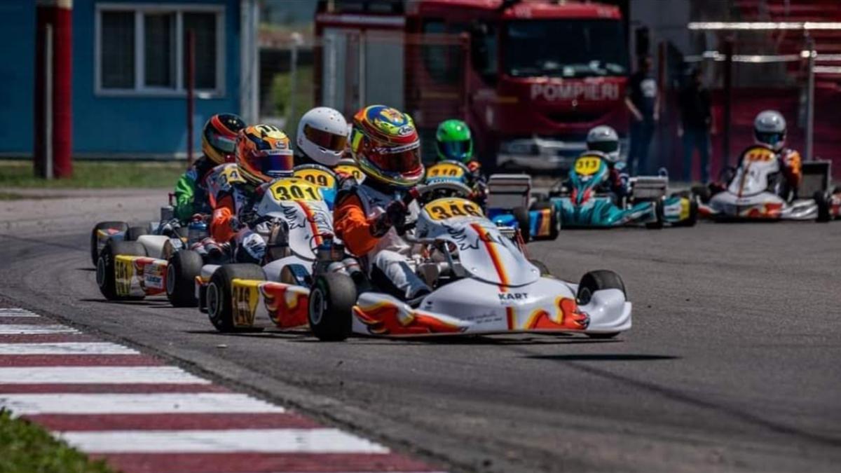 Totul este pregpătit pentru o nouă etapă din Campionatul Național de Karting