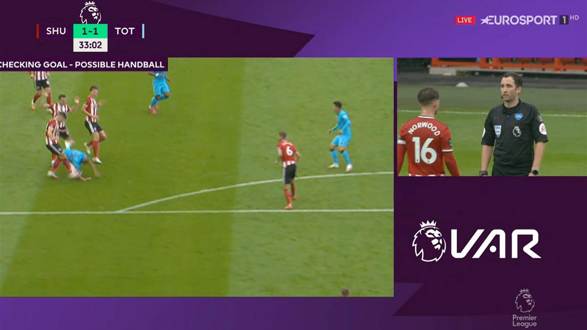 Premier League | Sheffield United - Tottenham (Gol anulat)