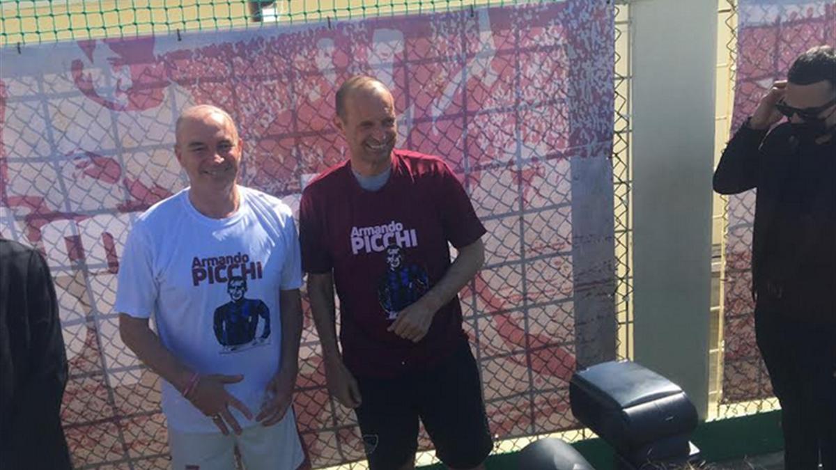 """Massimiliano Allegri nel """"gabbione"""" di Livorno"""