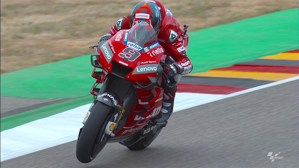Moto GP Germany - Ducati team in Sachsenring