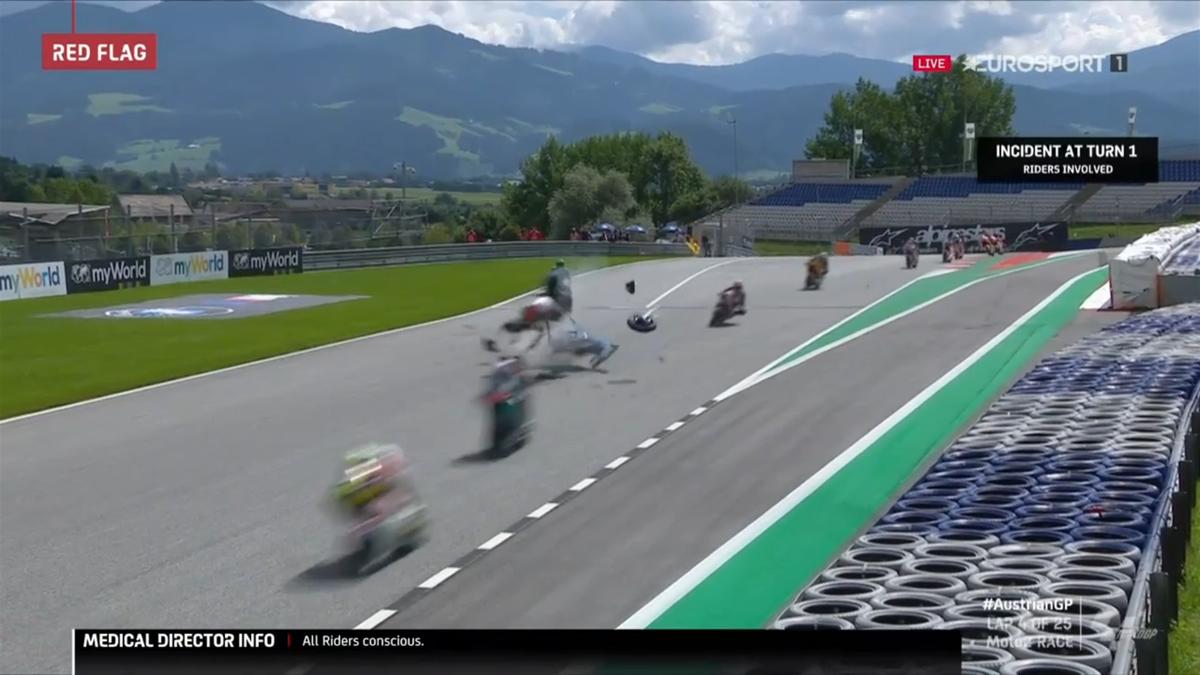 Moto2 Crash Syarihn