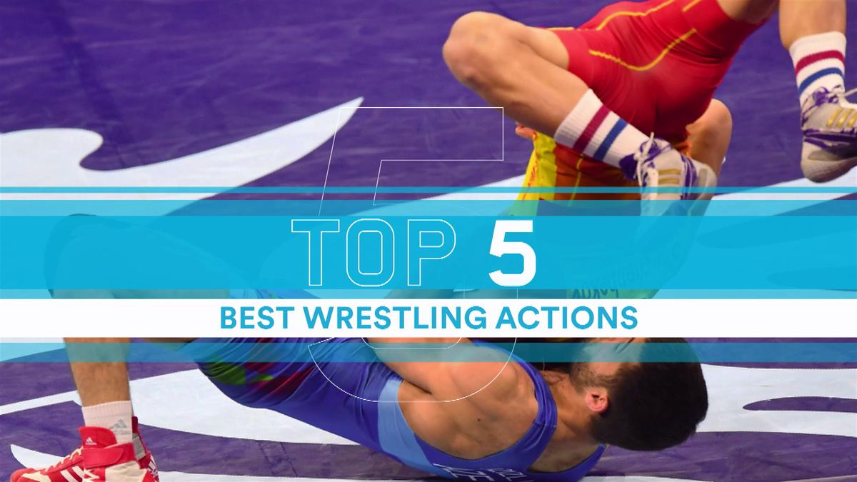 Sponsored – TOP 5 Wrestling des WCH de Budapest