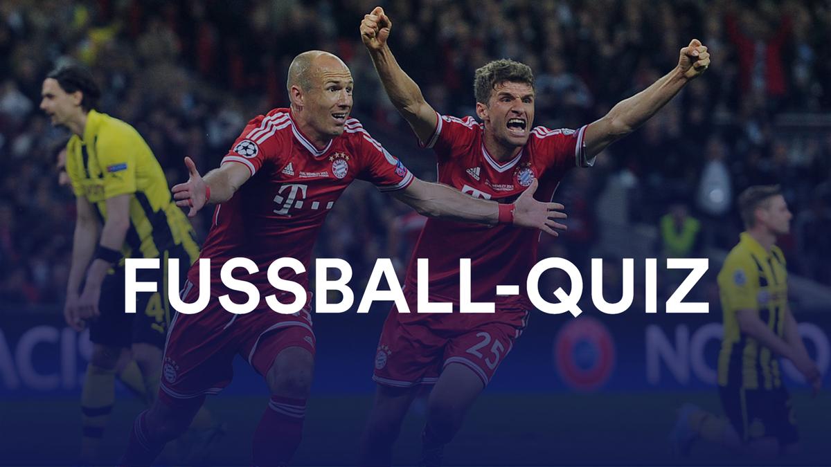 Quiz: Alle Spieler CL-Finale FC Bayern - BVB 2013
