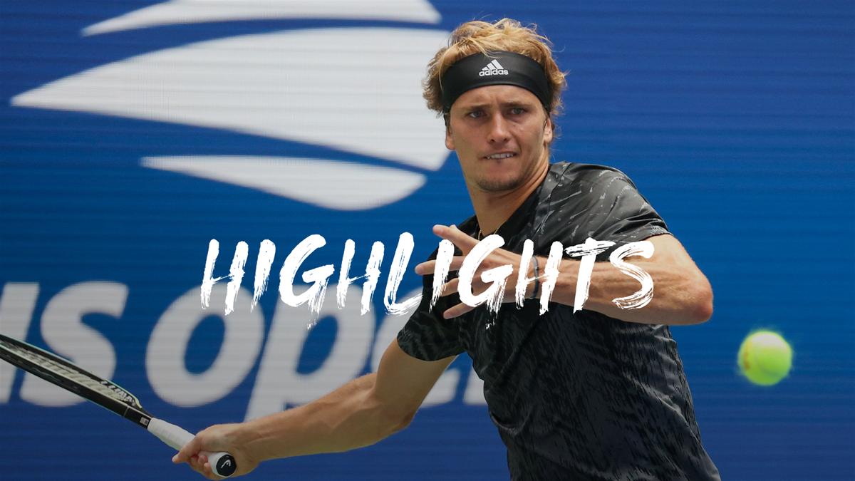 US Open | Zverev heeft in de eerste ronde slechts drie sets nodig
