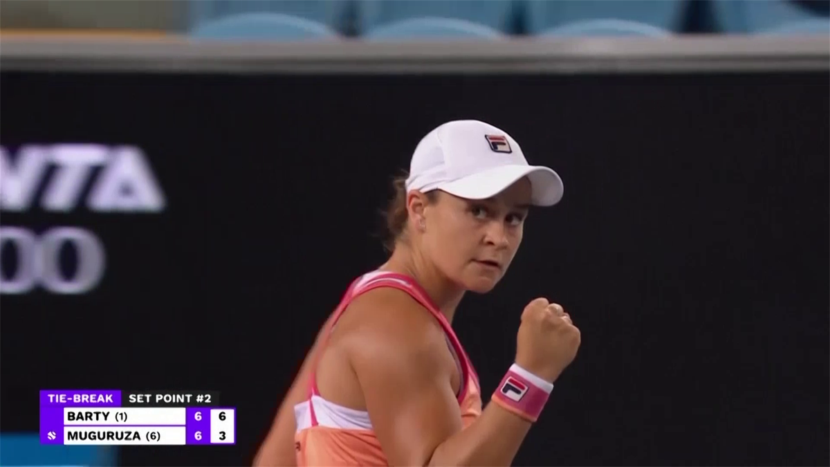 WTA Yarra Valley - Highlights Barty vs Muguruza