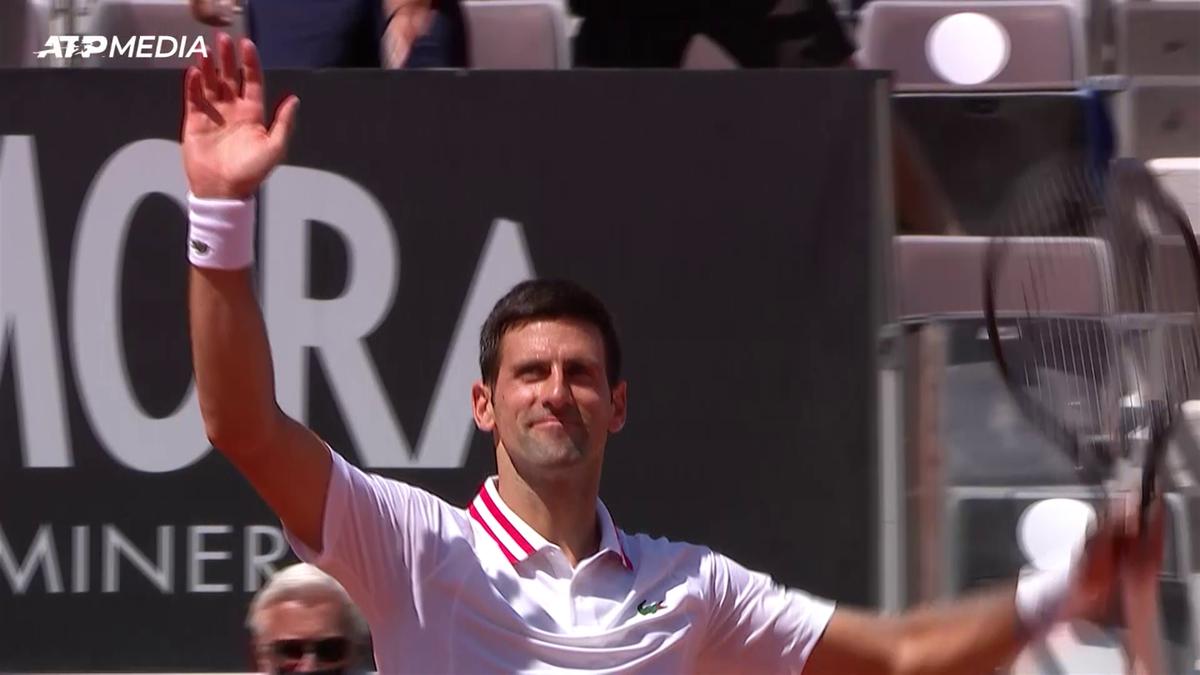 Djokovic eases past Davidovich Fokina to reach Italian Open quarter-finals