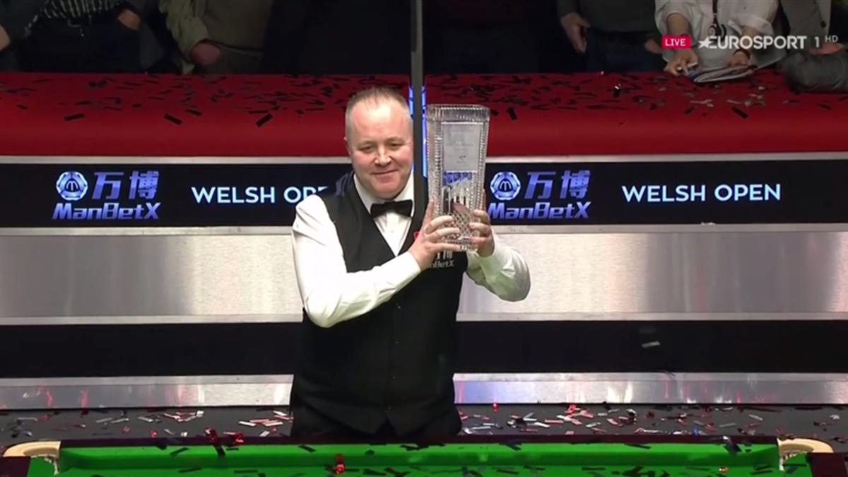 John Higgins wins the Welsh Open
