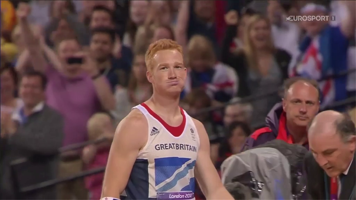The moment Rutherford knew he was Olympic champion