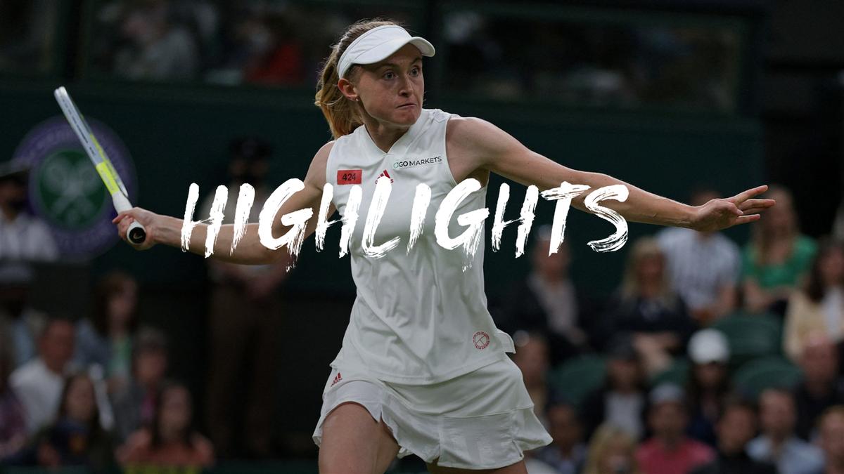 Wimbledon  Dramatische exit Serena Williams