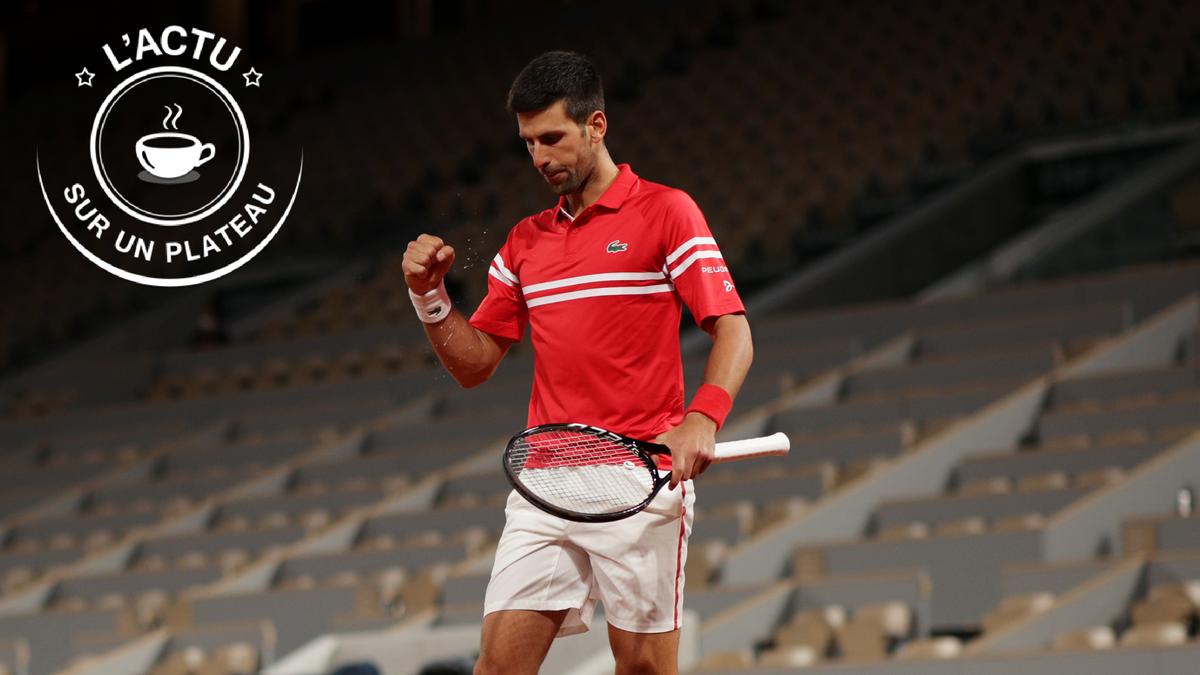 Novak Djokovic - L'actu sur un plateau