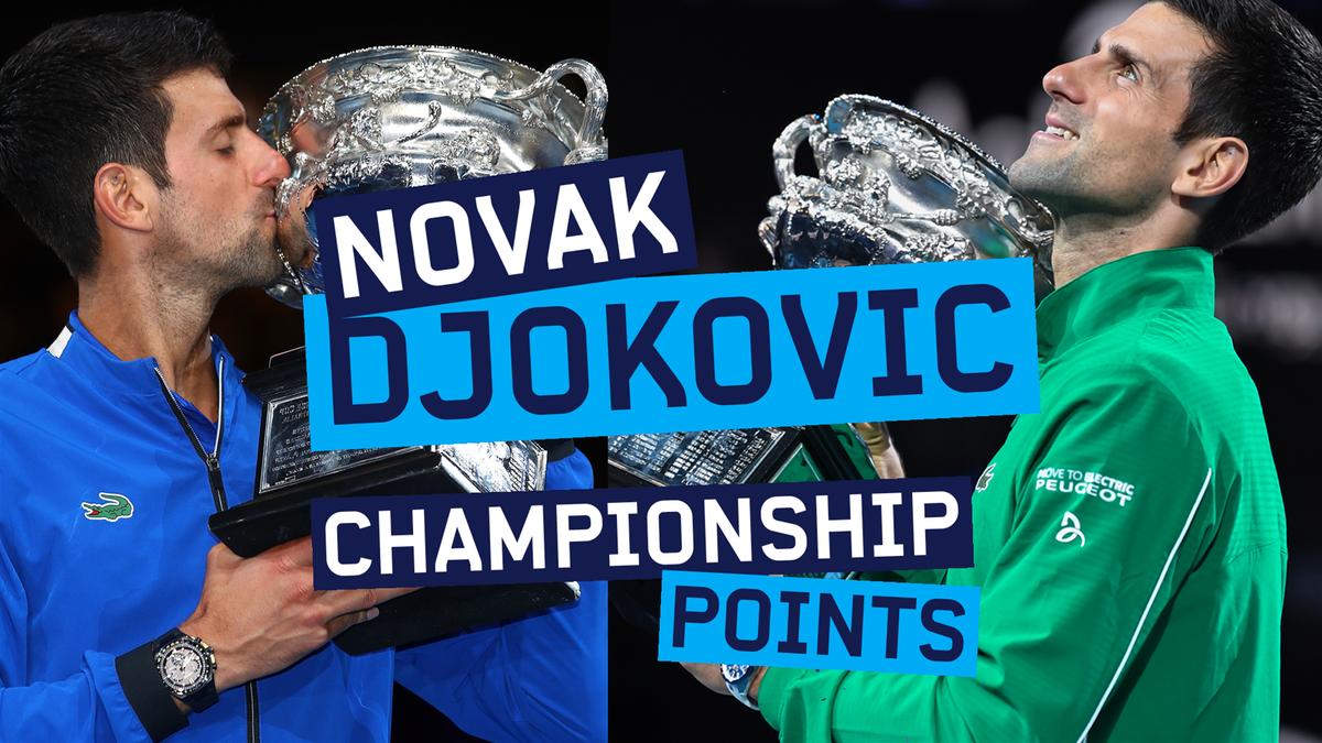 Australian Open : Novak Djokovic - Championship Points