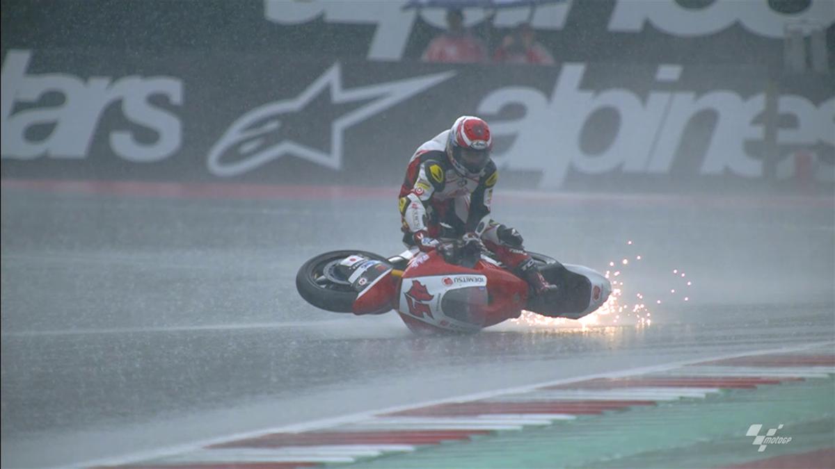 Moto2 regen
