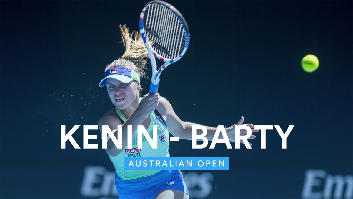 Australian Open : Highlights - Kenin - Barty (VM)