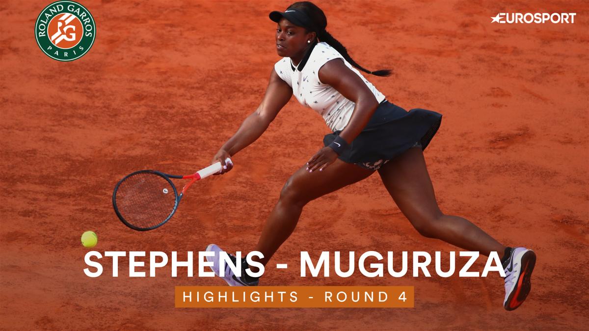 Roland-Garros 2019: Stephens-Muguruza, vídeo y resumen del partido