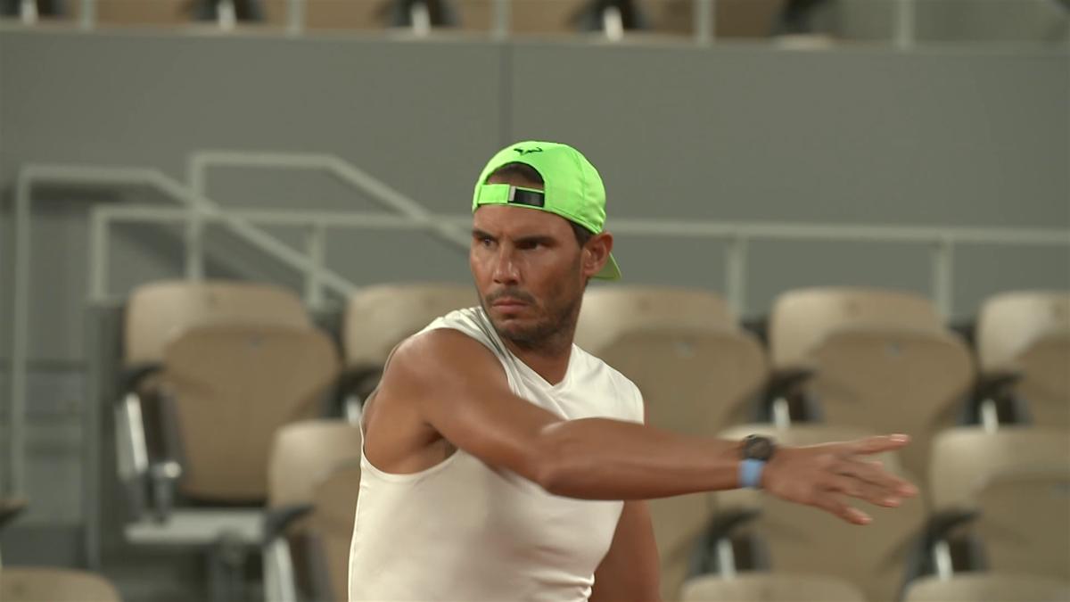 Rafael Nadal s-a antrenat cu Alexander Zverev la Roland Garros 2020