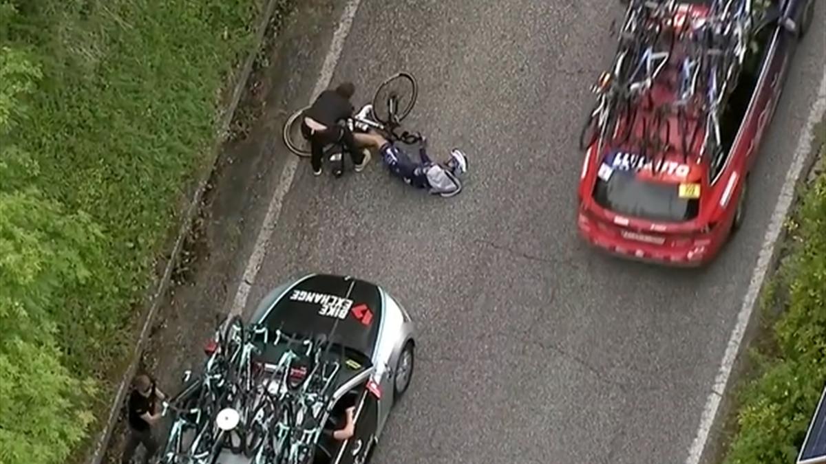 Pieter Serry wurde von einem Fahrzeug umgefahren