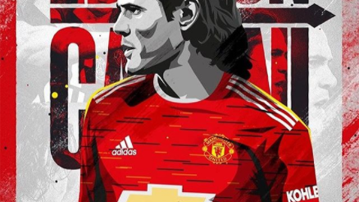 Edinson Cavani a semnat pe un an cu Manchester United