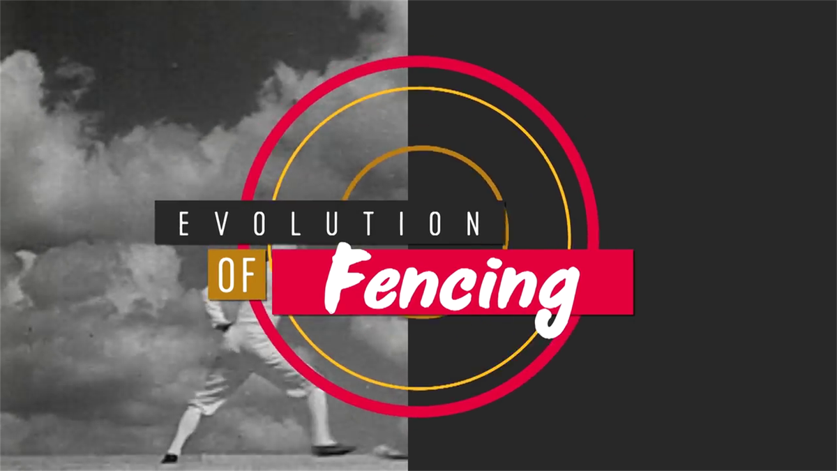 Evolution of fencing at the Olympics - one of four sports to appear in every Games