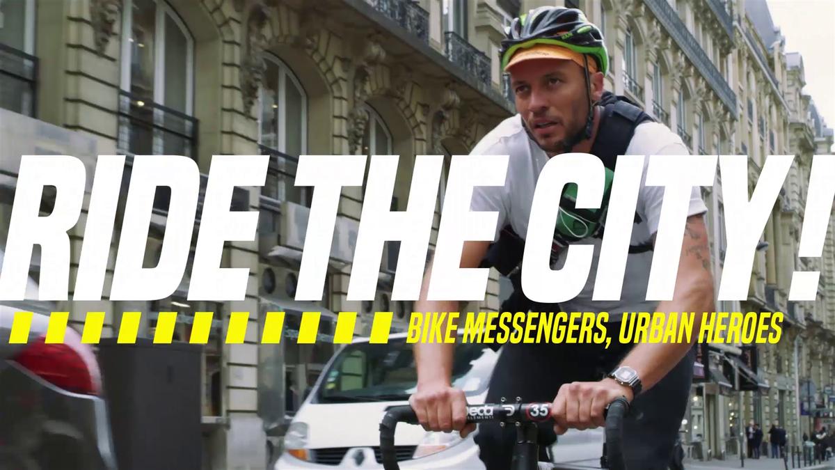 Ride the city - episode 7 Bike Messengers Urban Heroes UK