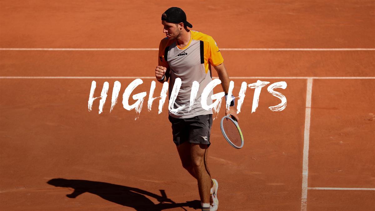 Roland Garros | Struff zorgt voor shock door Rublev uit te schakelen
