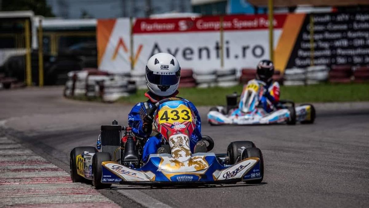 Martin Bekov e campion la karting
