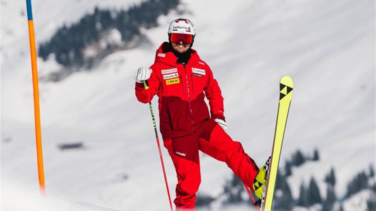 Urs Kryenbühl gibt nach seinem schweren Sturz sein Ski-Comeback