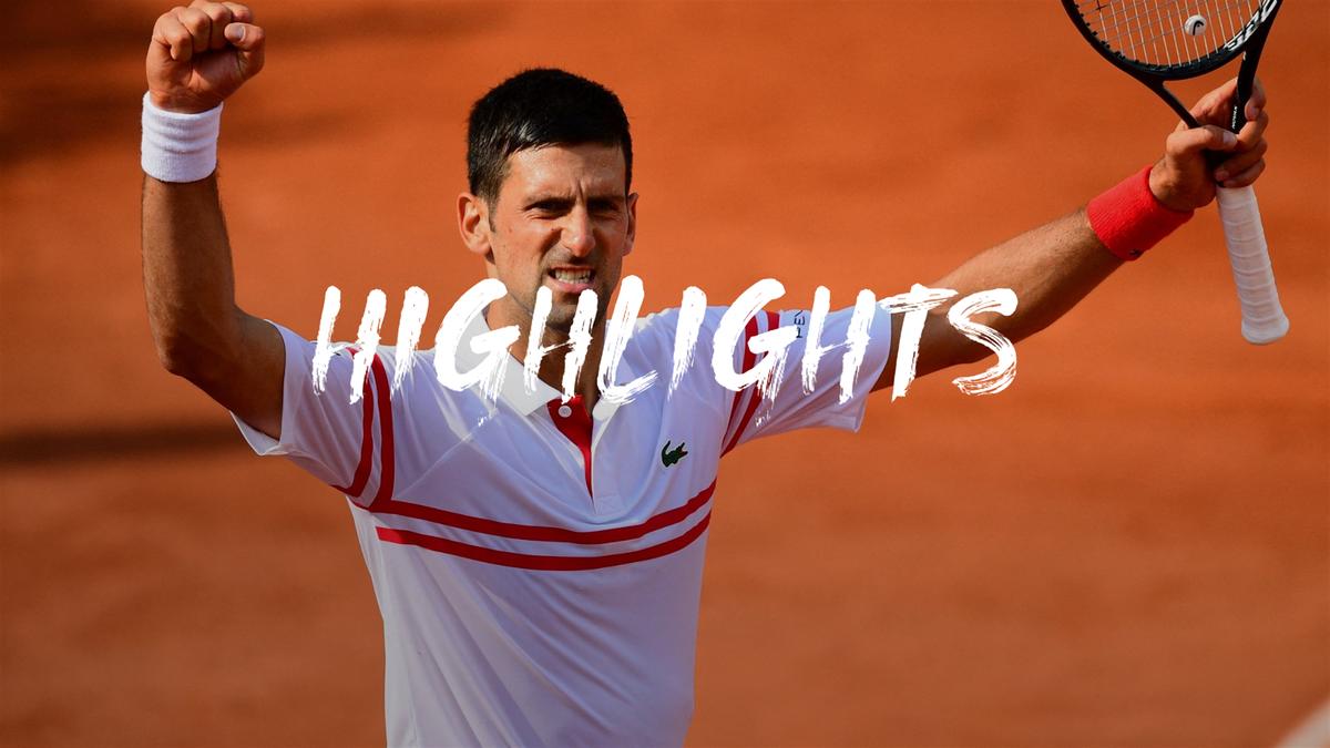 Highlights: Djokovic comes through big Musetti scare to reach quarters