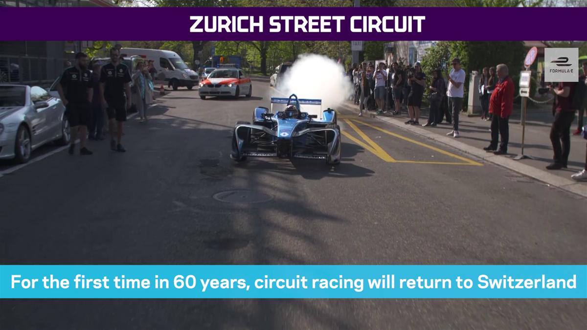 Formula E in Zurich (preview in english)