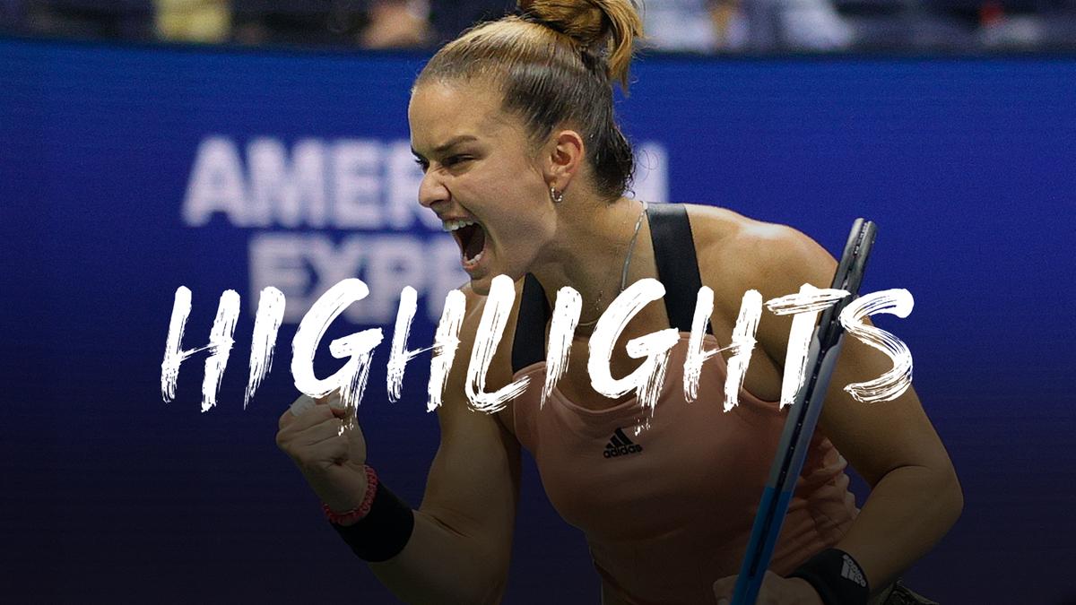 US Open | Sakkari meldt zich in halve finale na winst op Pliskova