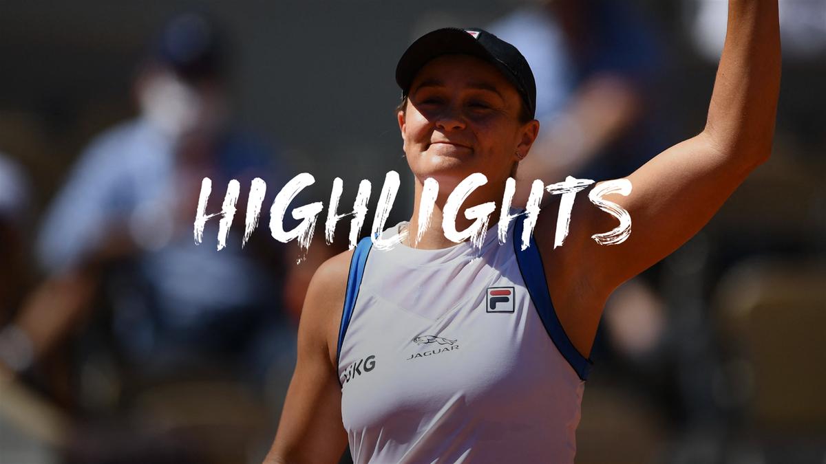 Roland Garros   Barty moeizaam naar tweede ronde