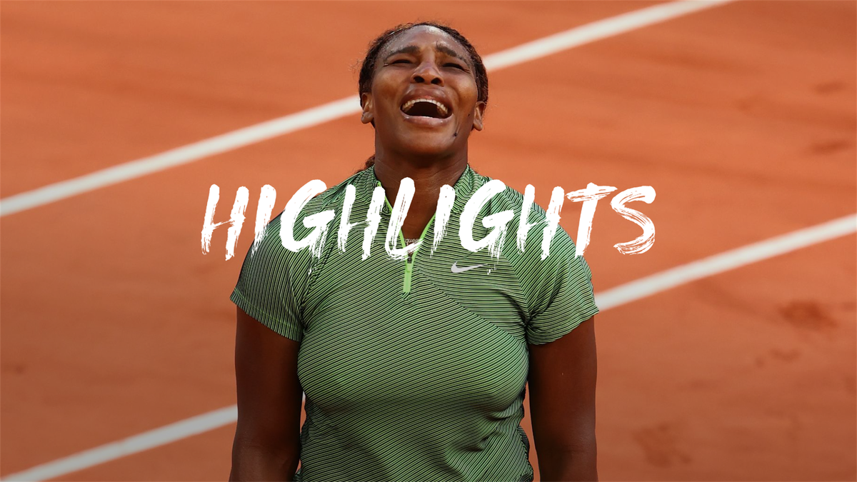 Serena WIliams survives scare to reach French Open third round