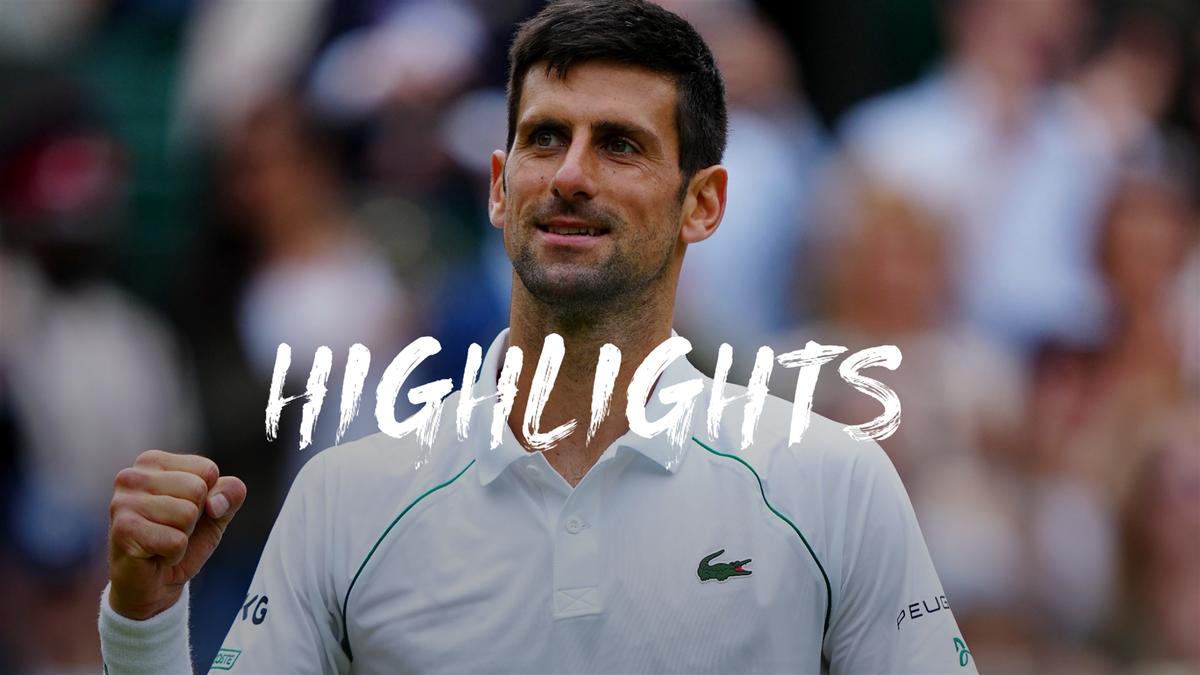Wimbledon| Hoogtepunten Djokovic - Fucsovics