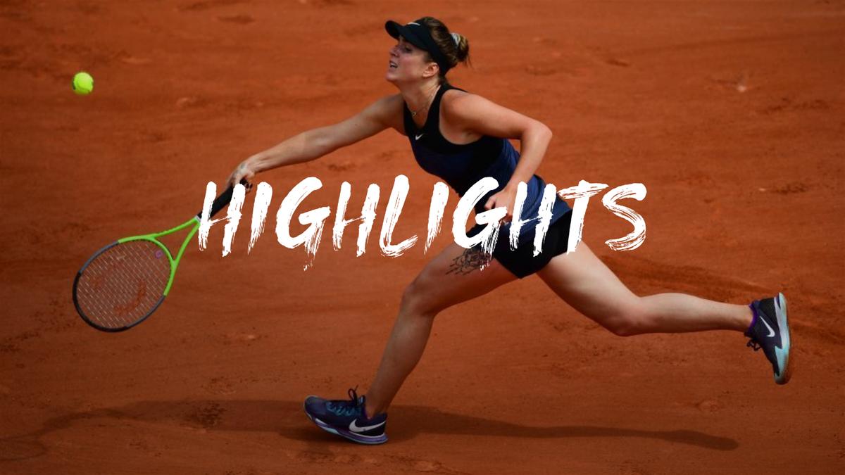 Highlights: Svitolina crushes Li to reach third round at Roland Garros