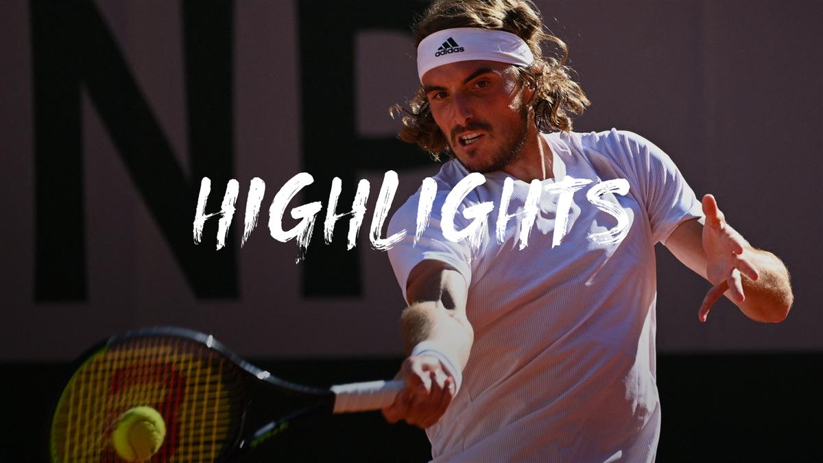 Highlights: Tsitsipas makes history with thrilling win over Zverev