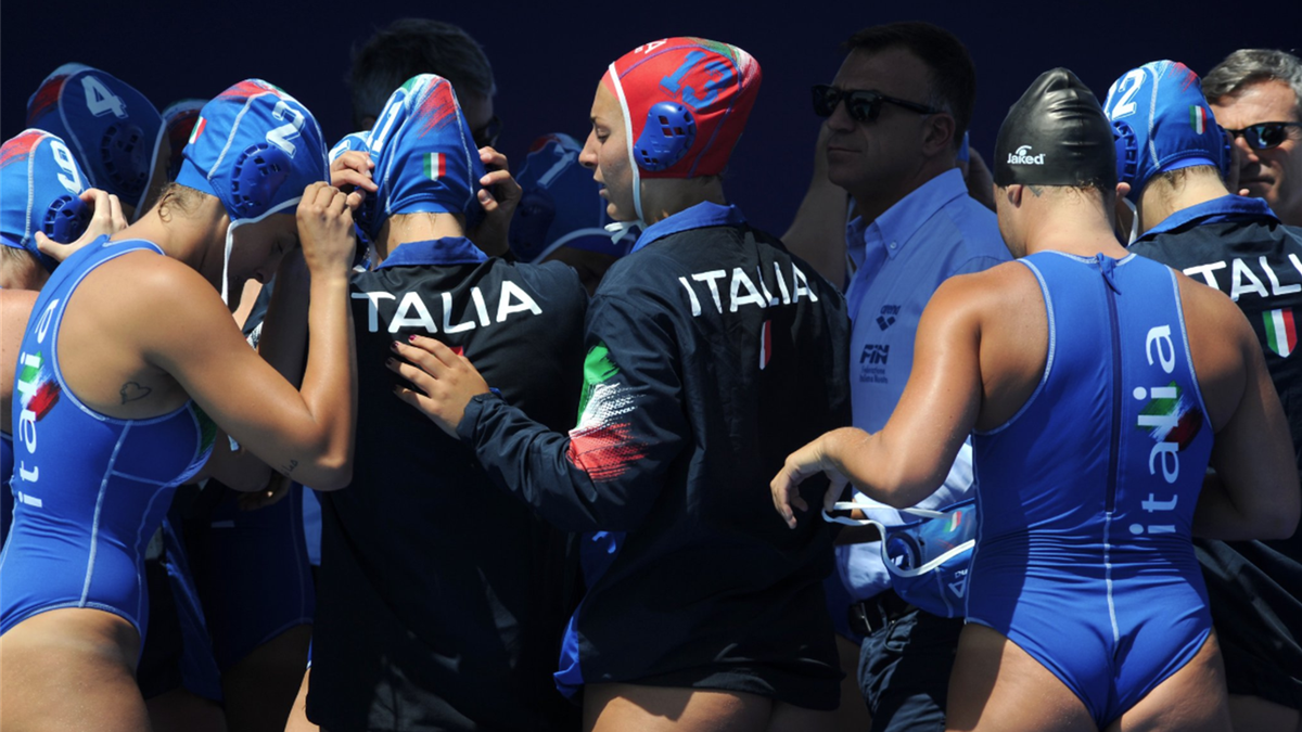 Il Setterosa durante gli Europei di pallanuoto del 2018, Italia femminile