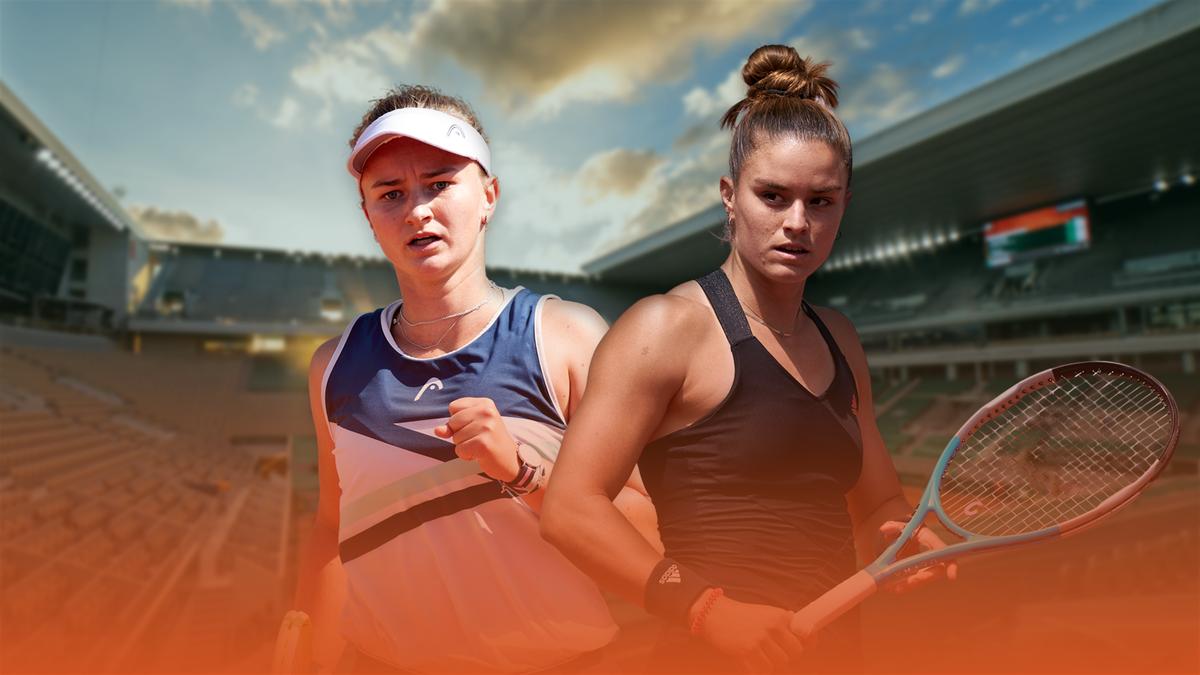 Barbora Krejcikova vs. Maria Sakkari | Semi-final, Roland-Garros 2021 | Eurosport Premium Content